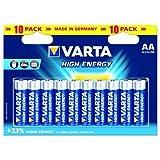 Varta 1x10 High Energy AA LR 6
