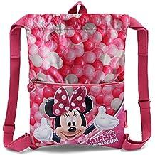 b2aaf97ff Karactermania Minnie Mouse Bubblegum Bolsas con Cordón, 42 cm, ...