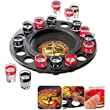 Mayatra's Roulette Casino Game Set With 16 Drinking Shot Glasses