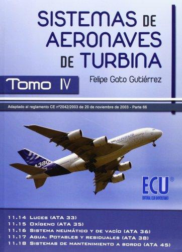 Sistemas de aeronaves de turbina IV: 4