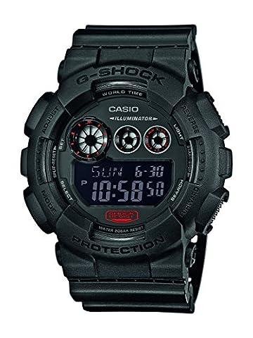 Casio G-Shock – Montre Homme Digital avec Bracelet en Résine – GD-120MB-1ER