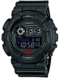 Casio Herren Armbanduhr G-Shock Analog - Digital Quarz Schwarz Resin GD-120MB-1ER