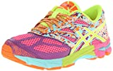ASICS GEL Noosa Tri 10 GS Running Shoe (Little Kid/Big Kid),Hot Pink/Flash Yellow/Ice Blue,5.5 M US Big Kid