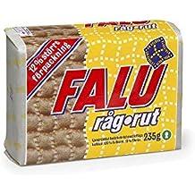 Falu Trapo Rutina - Pan Crujiente De Centeno (235g) (Paquete de 6)