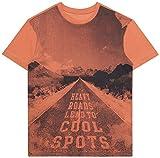 ESPRIT KIDS Jungen T-Shirt RL1043604, Orange (Rust Orange 766), 152 (Herstellergröße: M)