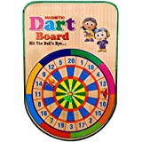 Sunshine Hanging Magnetic Dart Board With 3 Darts For Indoor