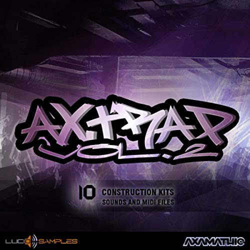 Kit Production Pack (AX Trap Vol. 2 - Samples Kits for Production Trap Music | DVD non Box)