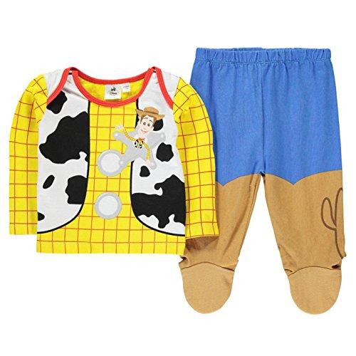 Character Kinder Baby Pyjama Set Schlafanzug Langarm Shirt Schlafhose Baumwolle Woody 18-24 Mnth (Herren Woody Shirt)