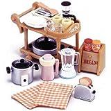Epoch Sylvanian Families Sylvanian Family Dining Kitchen set Electric Kitchen set KA-407 (japan import)