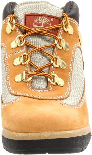 Timberland Leather and Fabric Field Boot (Toddler/Little Kid/Big Kid),Wheat,1 M US Little Kid Wheat