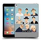 Officiel Justin Bieber Visages Justmojis Étui Coque D'Arrière Rigide Pour Apple iPad Pro 10.5 (2017)