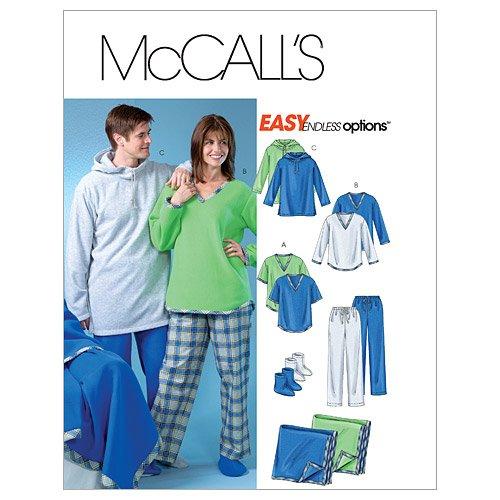 mccalls-patterns-m4675-tailles-xs-s-m-l-taille-z-hommes-teen-boys-tops-pantalons-chaussettes-et-couv