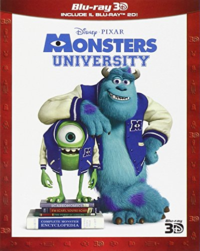 Monsters University (3D) (Blu-Ray 2D + Blu-Ray 3D)
