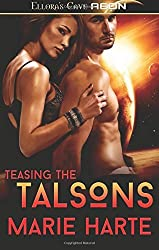 Teasing The Talsons by Marie Harte (2014-05-01)