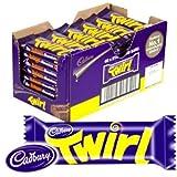 Cadbury Twirl Twin Chocolate Fingers 43 grams x 48 bars