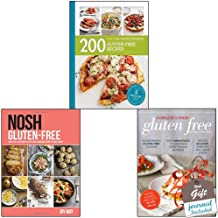 Gluten-Free Recipes 3 Books Bundle Collection With Gift Journal - Nosh Gluten-Free: A No-Fuss, Everyday Gluten-Free Cookbook from the May Family,Gorgeous Food Gluten Free,200 Gluten-Free Recipes: Hamlyn All Colour Cookbook