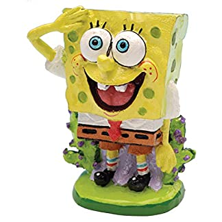 Nickelodeon Penn Plax Officially Licensed Sponge Bob Aquarium Ornament – Sponge Bob! - Perfect For Fish to Swim Around… 14