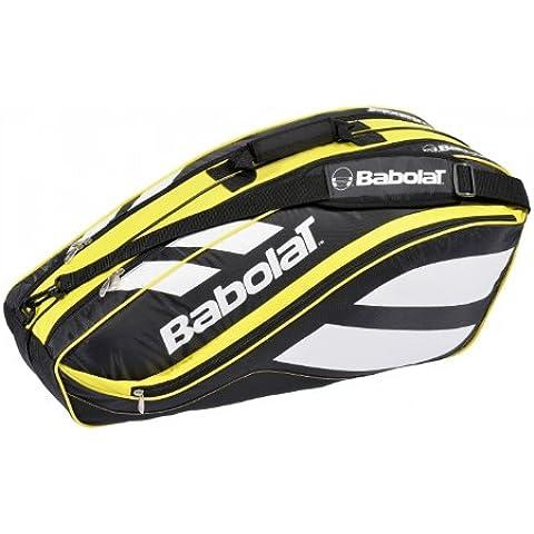 Babolat Club Line - Raquetero para 6 raquetas (75 x 20 x 32 cm), color rojo