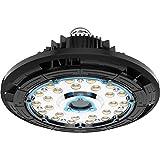 Profi 150W LED Hallenleuchte UFO Industrie Strahler Werkstattlampe für Lagerhallen, Fabrik und Sporthallen, Philips Chips und Mean Well Treiber, 3 Jahre Garantie