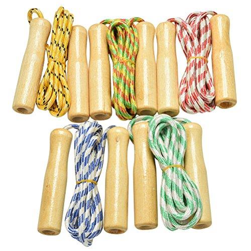 7thlake 2.4m Wooden – Skipping Ropes