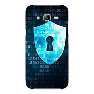 Special Digital Secure Print Blue Back Case Cover for Samsung Galaxy J5