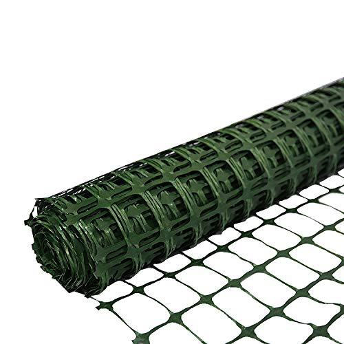 SORARA Barrera de Seguridad de plástico PE/Cerca Verde | 30 m /...