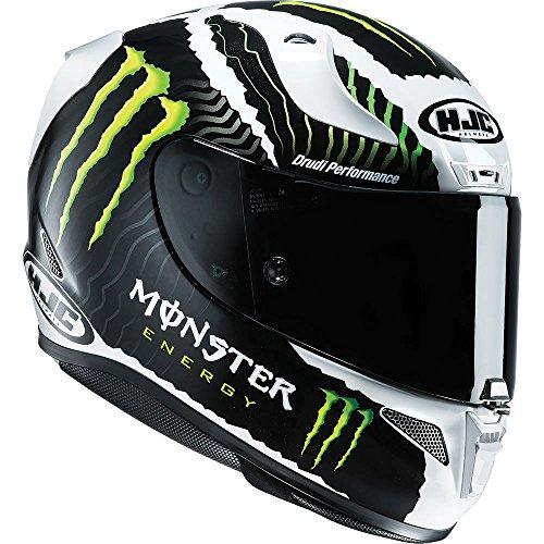 Hjc Rpha 11casco integrale moto sport–Monster Energy militare bianco sabbia, edizione limitata