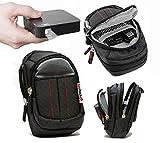 Navitech schwarz Schützender tragbarer Projektor Tragetasche und Reisetasche für die UO Smart Beam Laser Portable Mini Projector