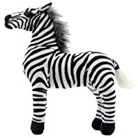 TAGLN Stuffed Animals Zebra Horse Toys Plush