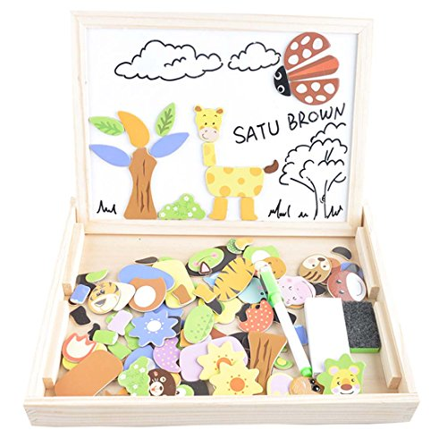 100-pieces-wooden-kids-toy-magnetic-board-puzzle-games-satu-brown-multi-functional-double-side-jigsa