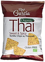 R W Garcia Thai Sweet & Spicy Organic Tortilla Chips With Flaxseed, 200g