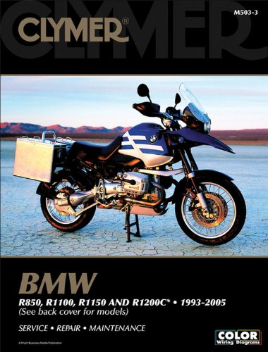 Clymer BMW R850, R1100, R1150 and R1200c, 1993-2005 (Clymer Color Wiring Diagrams) por Clymer Publications