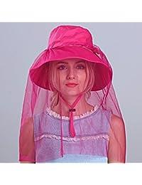 ERLINGSAN-MZ Gorro De Verano Mujer Sombrero Plegable Sombreros Gorra De  Playa  0c6a3434878