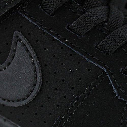 Nike Jungen Court Borough Low (Psv) Basketballschuhe Schwarz (Black/Black)