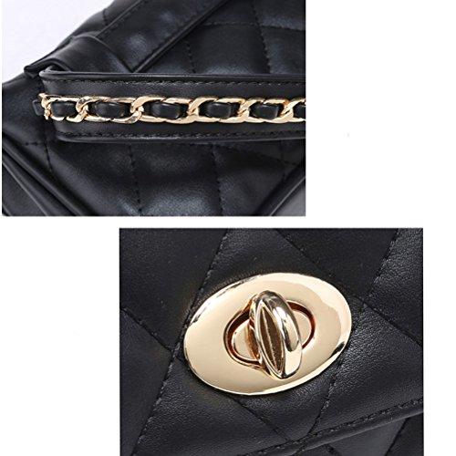 TTD Moda pequeña cintura dulce Fanny paquete bolsa móvil bolsa para mujeres y niñas-Azul
