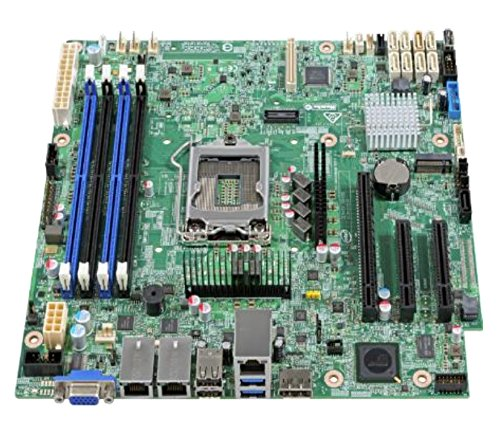 Intel dbs1200spsr–Server Mainboard (Sockel) (Intel Server Motherboard Board)
