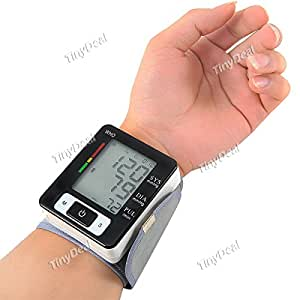 Household Wrist Watch Style Digital Automatic Blood Pressure Monitor Measure Meter Tester Health Kit BKH-257731