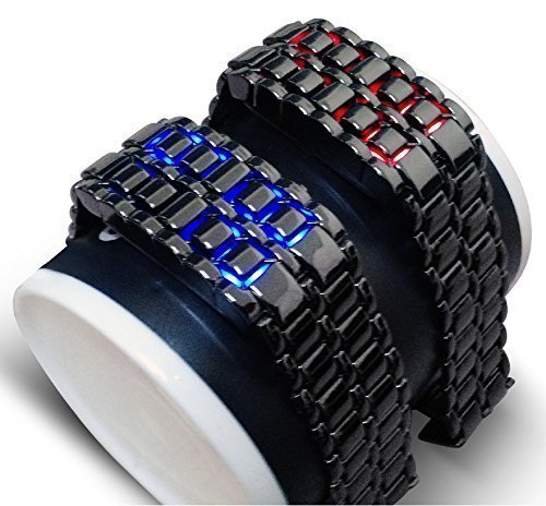 led-gunmetal-grey-with-blue-led-lava-faceless-bracelet-style-fashion-2014-fashion