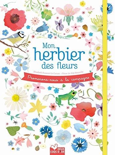 Promenons-nous à la campagne - Mon herbier des fleurs