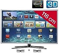 SAMSUNG UE46ES6710 3D LED Smart TV HD TV 1080p, 46 inch (116 cm) 16/9, 400Hz, Freeview, 3D Ready, Ethernet, HDMI x3, USB 2.0 x3, WiFi Ready