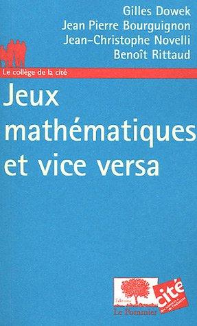 Jeux mathmatiques et vice versa