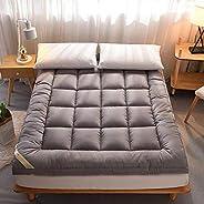 Hotel Mattress Topper Grey King Size 180 x 200 cm Golden Quilt