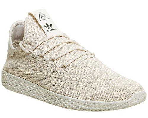 adidas Originals Pharell Williams Tennis Sneaker Beige (Leinen/Leinen/Blatiz 000)