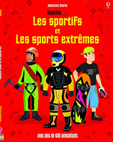Habille... Les sportifs et les sports extrmes - Autocollants Usborne