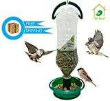 #7: PetNest eco friendly Soda Bottle Bird Feeder