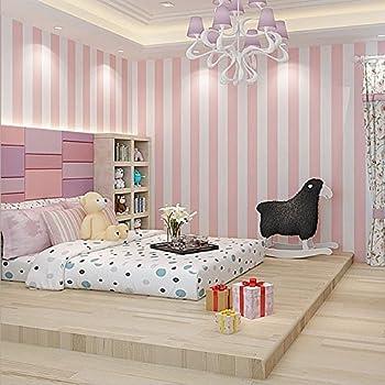Pink and white stripe vinyl wallpaper galerie sy33909 - Pink and white striped wallpaper bedroom ...