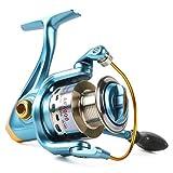 Carrete para caña de pescar Sougayilang modelo 11+1bb, para uso en agua dulce y salada