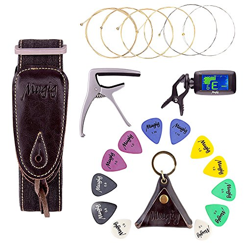 Guitar accessories package