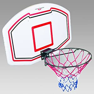 Pro Touch Basketball Set-71685100001 Badminton Board, Weiß/Schw/Rot, 1