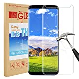 Samsung Galaxy S8 Plus Screen Protector, Kany Galaxy S8 Plus Screen [Easy Installation] [Anti-Fingerprint] for Samsung Galaxy S8 Plus - Transparent (1 pack)